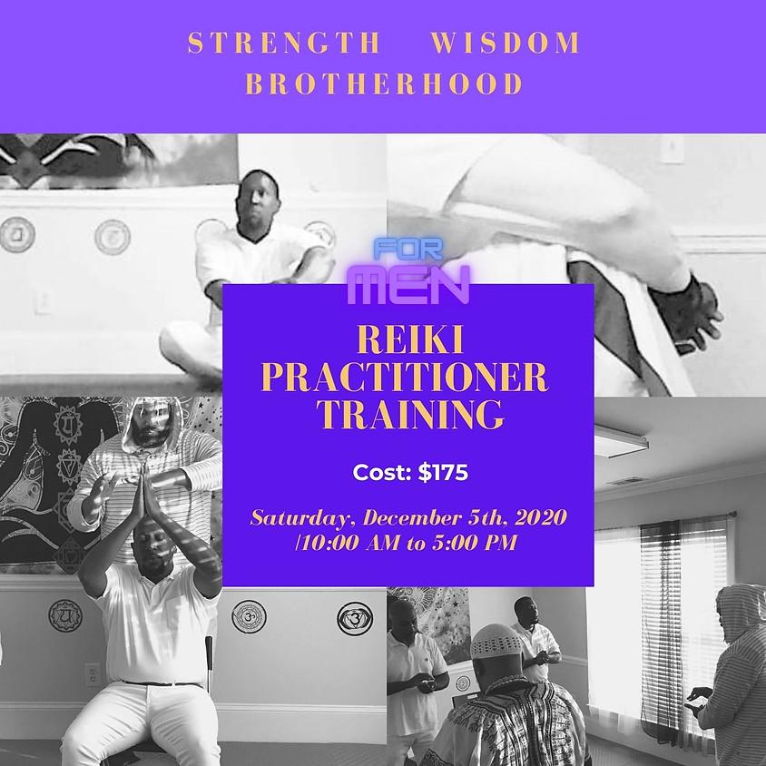 Men's Reiki I  Practitioner Training -ONLINE/FacetoFace