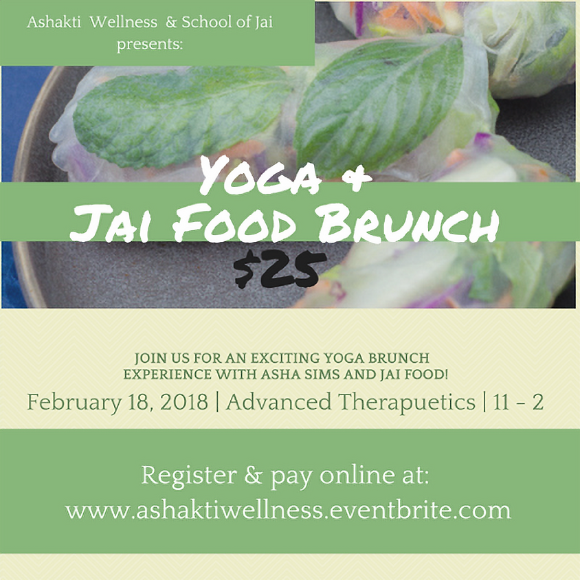 Yoga & Jai Brunch