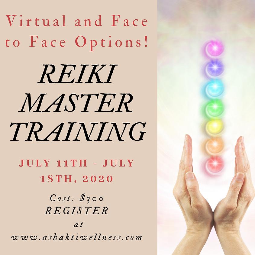 Reiki Master Training 2020 - VIRTUAL/FacetoFace