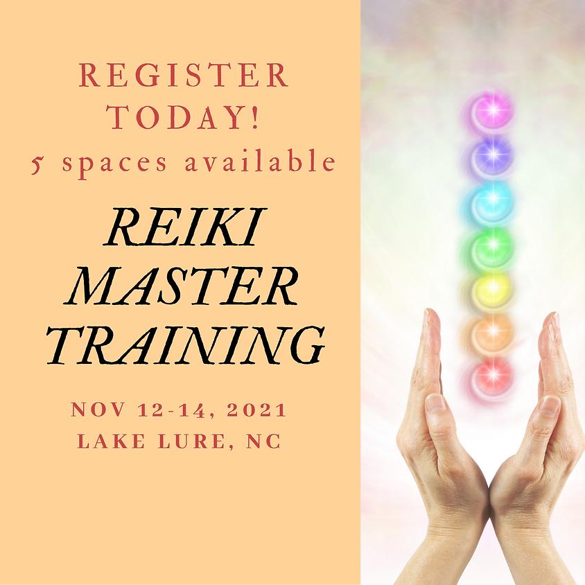 Reiki Master Training- November 2021 ( Mountains)