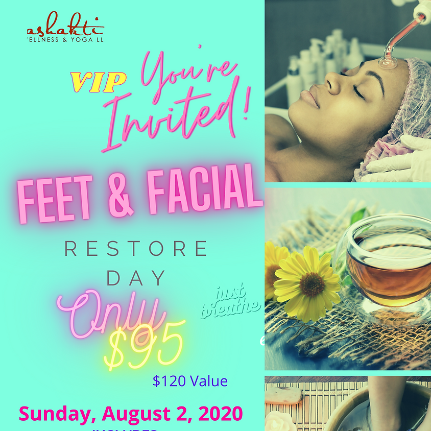 Grand Opening VIP Invite: FOOT & FACIAL WELLNESS DAY