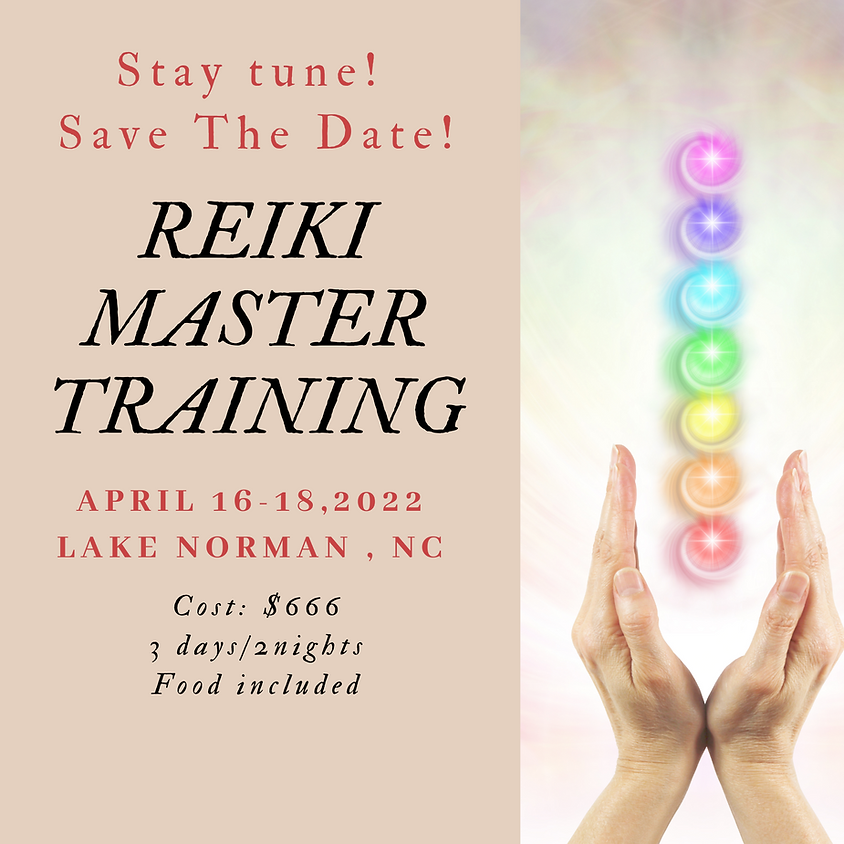 Reiki Master Training-Lake Norman