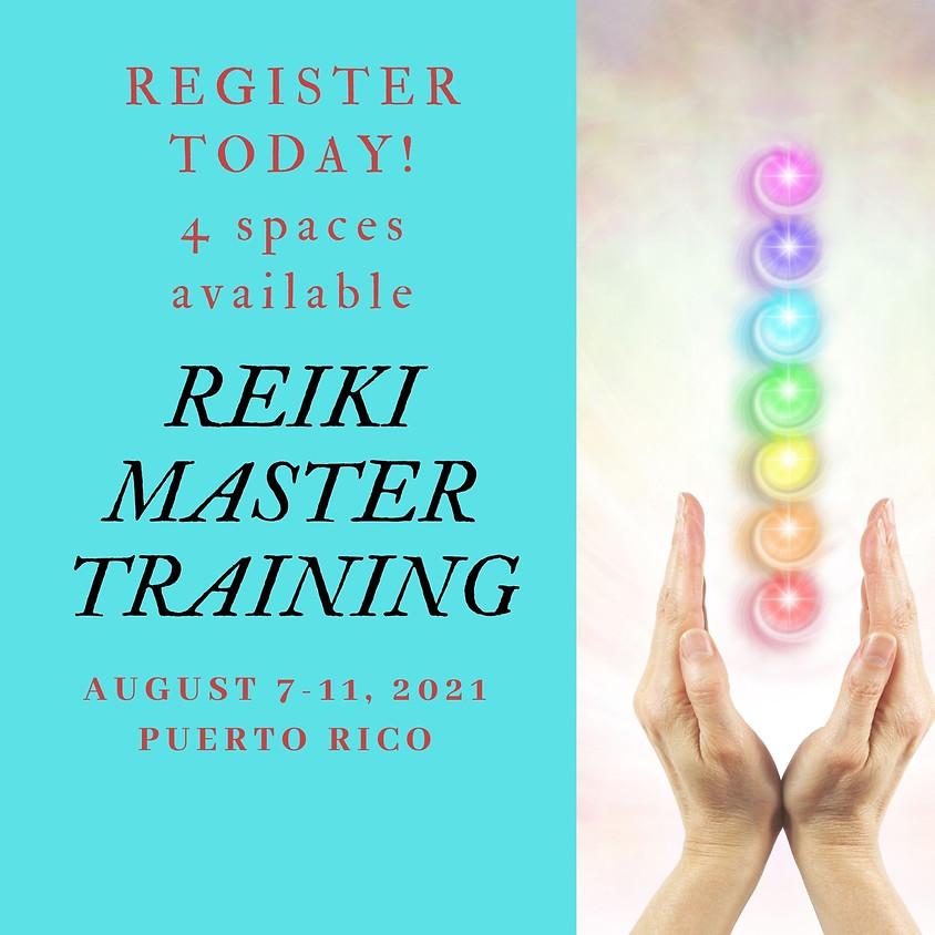 Reiki Master Training 2021 - Puerto Rico