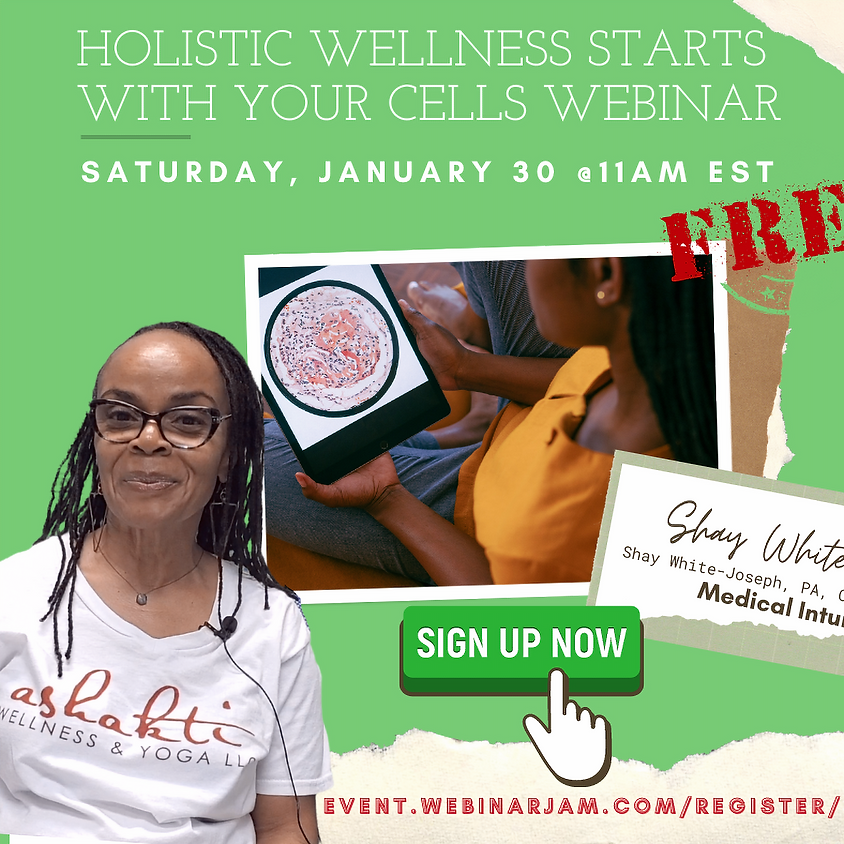 Holistic Wellness Starts with Your Cells