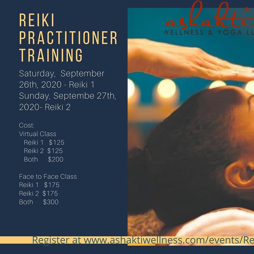Reiki 1 & 2  Practitioner Training -ONLINE/FacetoFace  (1)