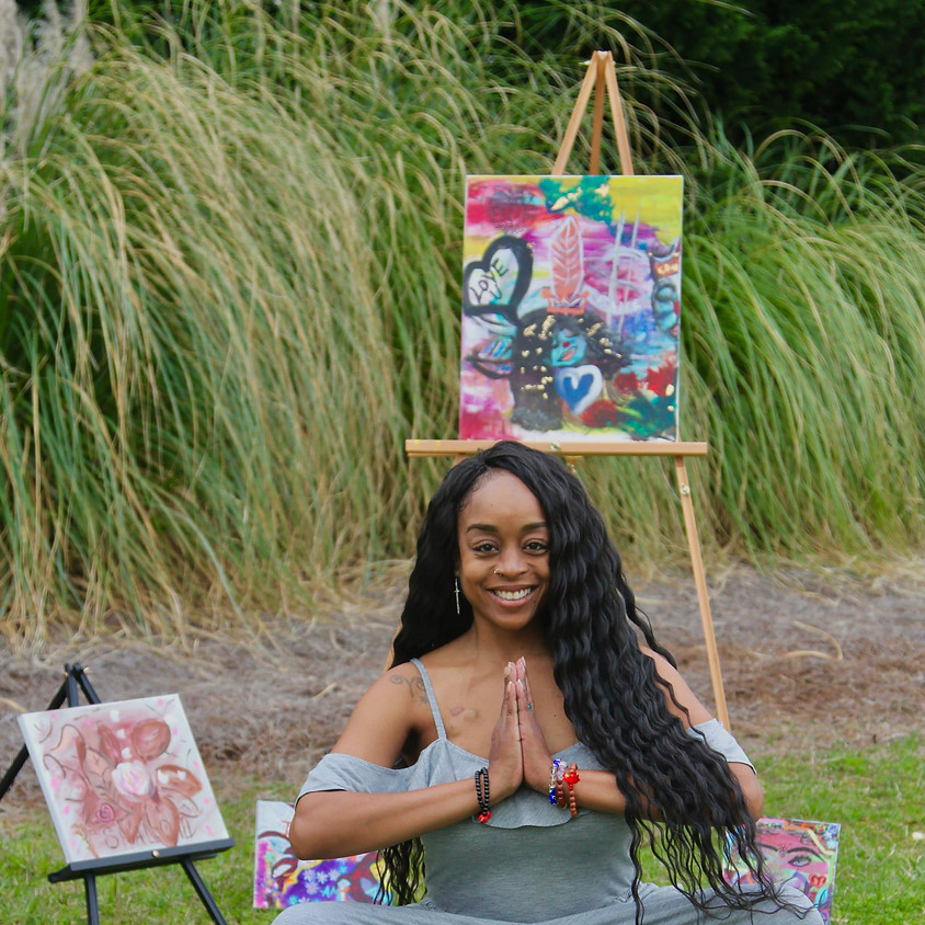 Chakra Meditation & Paint by Framed Inc.