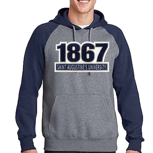 SAU097 Chenille Patch 1867  Hoodie