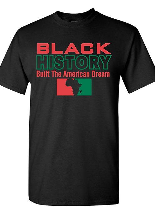Black History Built Tee