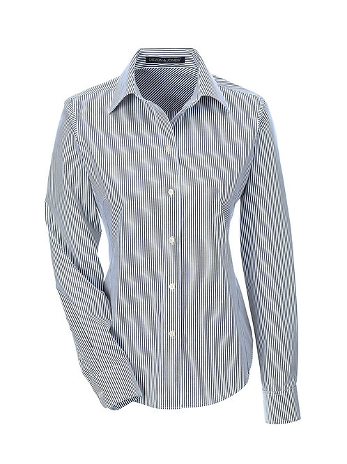 Class of 76 Ladies Banker Stripe Oxford
