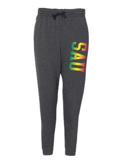 SAU Tri-Color Jogger Sweatpants