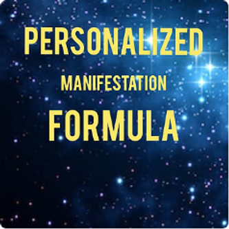Personalized Manifestation Formula
