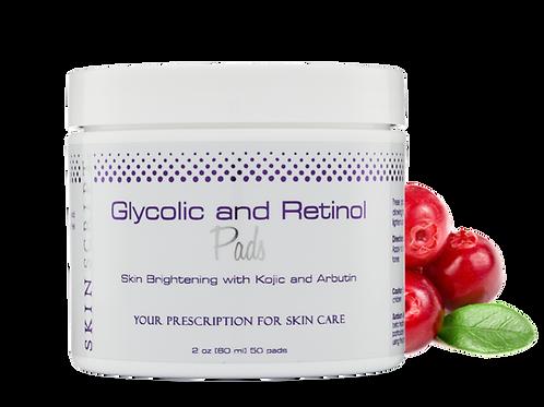 Glycolic and Retinol Pads (50 Pads)