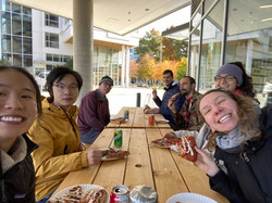 Group Lunch and ice-cream, Oct 2020