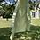 Thumbnail: Robe / déshabillé soyeux - vert anis