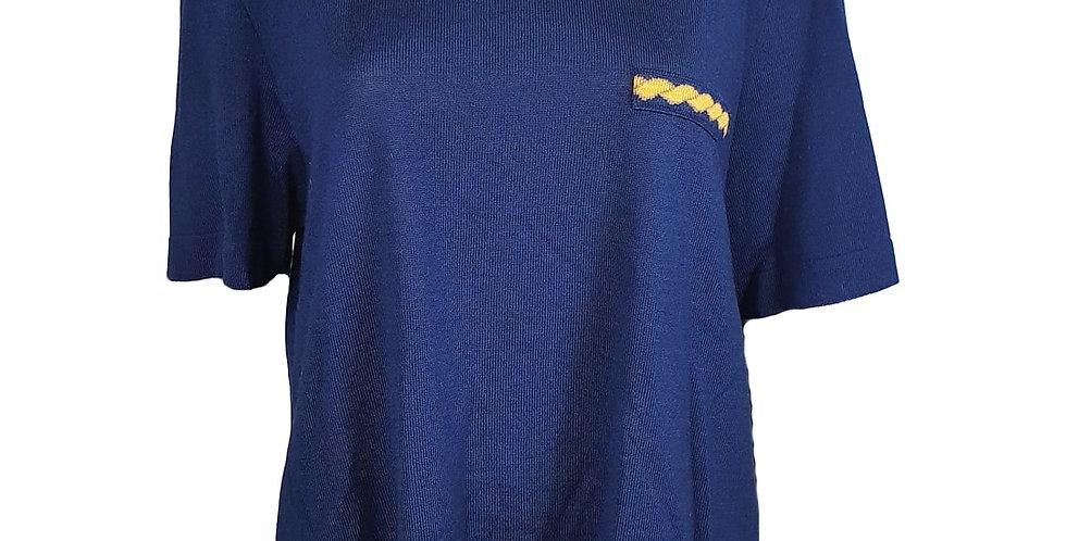 Pull tee-shirt marine et fantaisies