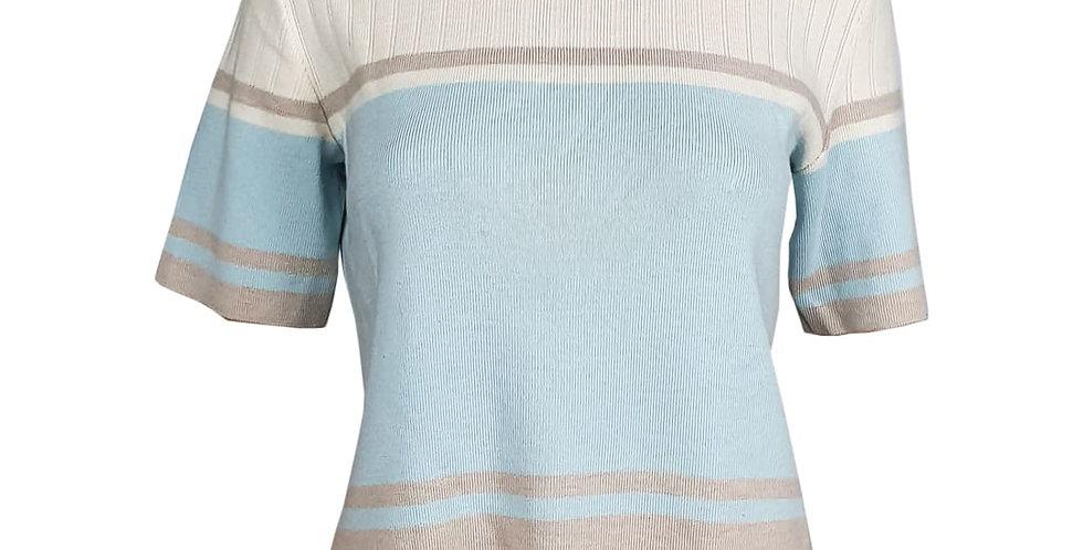 Tee-shirt pull rayé Manoukian