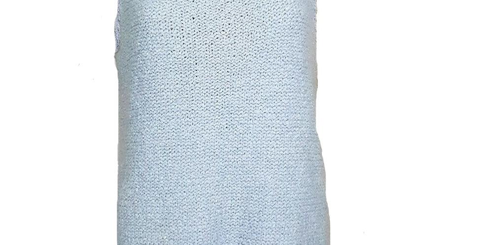 Débardeur en tricot bleu