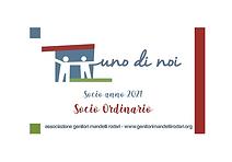 2021 - Tessera base Socio Ordinario BK.p