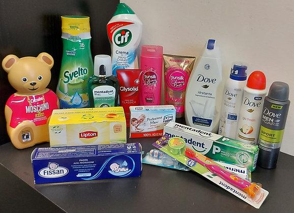 Cesto mix prodotti Unilever