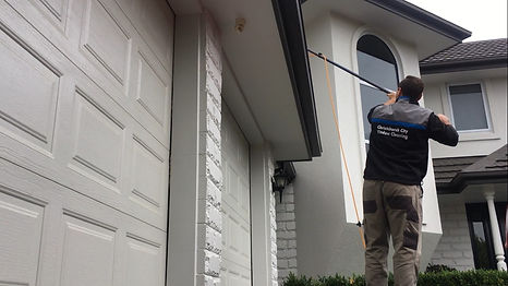 residential window cleaning inchristchurch