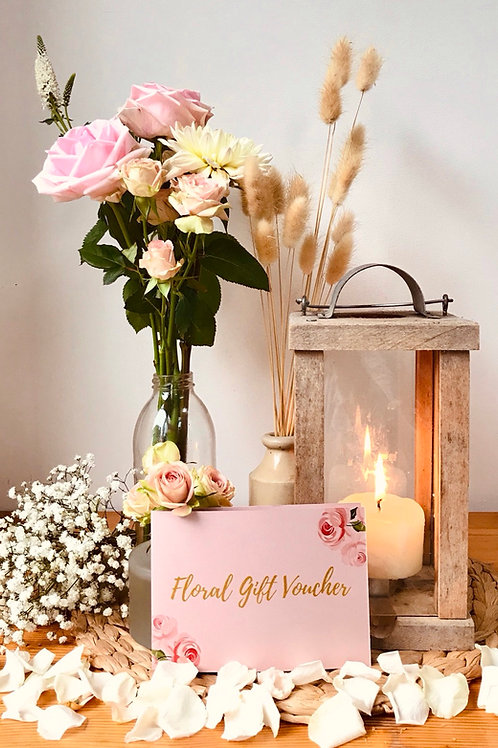 Bloomin' Floral Gift Voucher