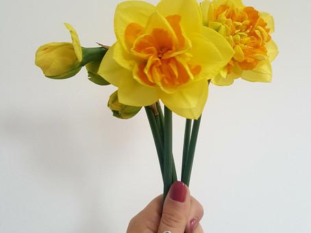 April = Spring Flowers