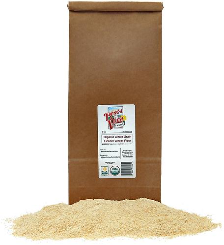 Organic Stone Ground Whole Wheat Einkorn Flour