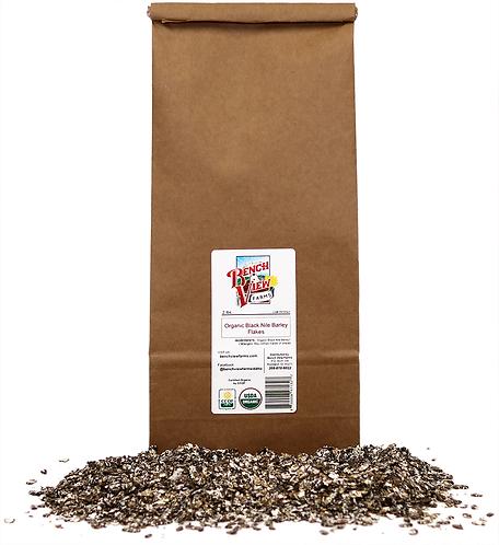Organic Black Nile Barley Flakes