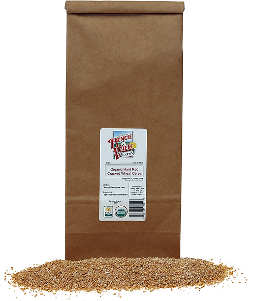 Organic Cracked Hard Red Cereal