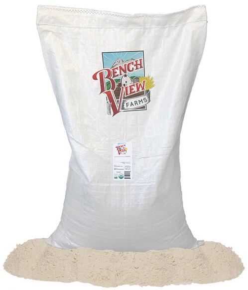 Organic Hard White Whole WheatFlour