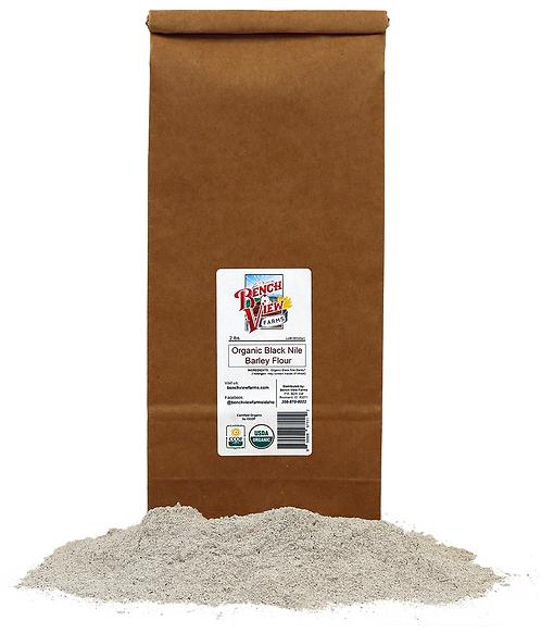 Organic Black Nile Barley Flour