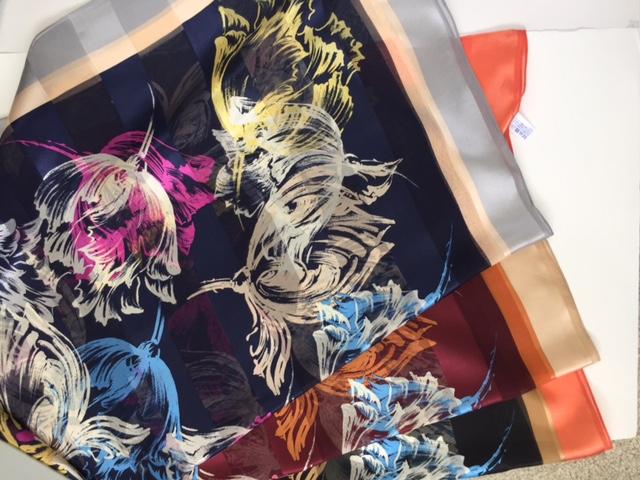 2017秋冬スカーフ製作