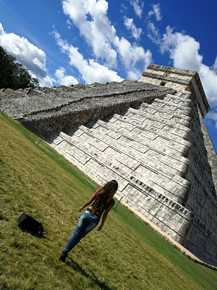 "Ancient Mayan temples: ""World Wonder"" Chichen Itza & Ek`Balam"