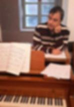 Lucas Georgas piano