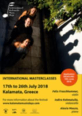 IKMD 2018 - masterclasses poster
