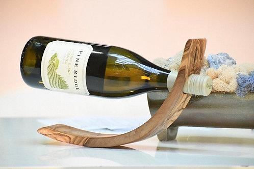 Bottle holder olive wood