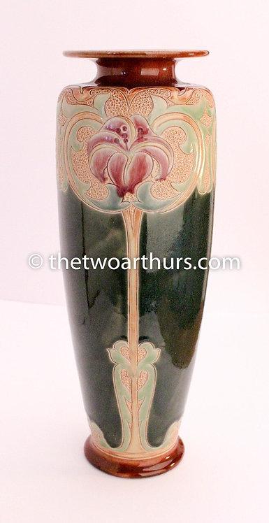 FRANCIS POPE, ROYAL DOULTON Large Stoneware Vase