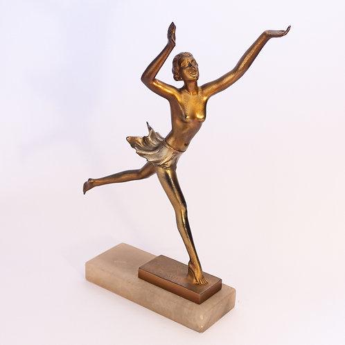 Superb Lorenzl Art Deco Figure