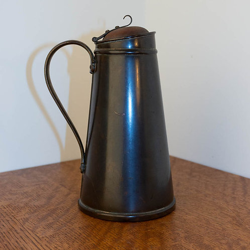 WAS Benson Arts and Crafts Copper Insulated Jug