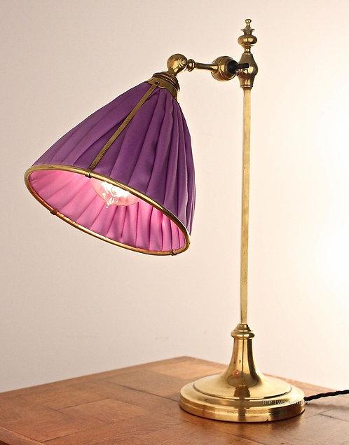 Benson Style Arts & Crafts Brass Table Lamp