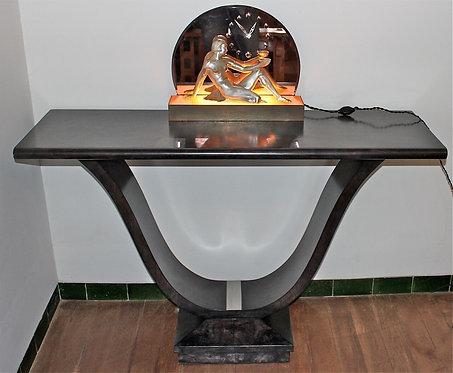 ART DECO Console Table Burr Walnut