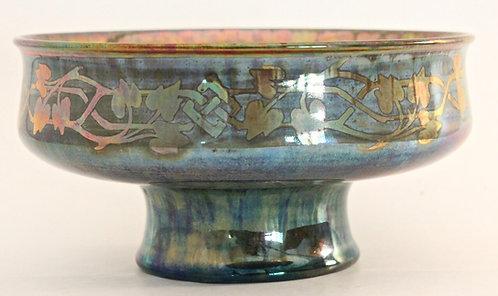 Pilkingtons Royal Lancastrian Lustre Ceramic Ochre Chalice Gladys Rogers