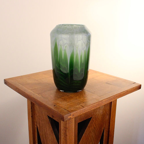 Loetz Leopold Bauer Flamarion Glass Vase