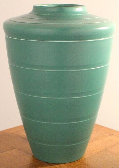 KEITH MURRAY Large Art Deco  Wedgwood Pottery Vase