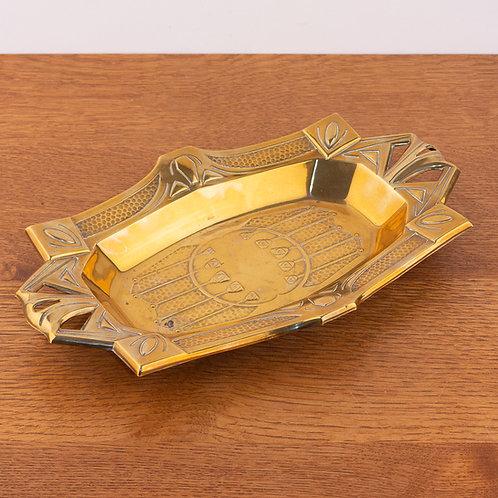 WMF Secessionist Brass Bowl or Tray