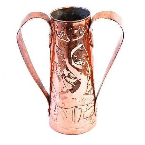 Newlyn Copper Vase Obed Nicholls