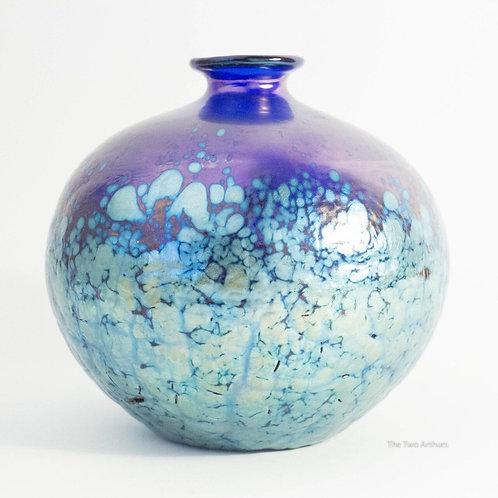 Loetz Phänomen Genre 377 Art Glass Vase  c.1900, 11.3cm high