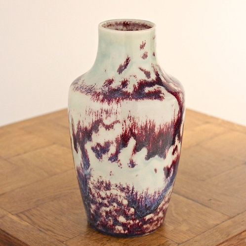 RUSKIN POTTERY Arts and Crafts High Fired Vase 1920