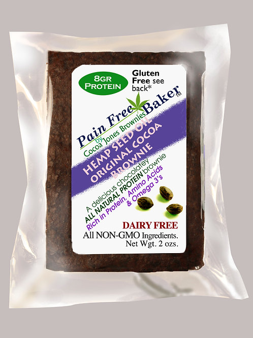 HEMP SEED OIL ORIGINAL PLAIN COCOA BROWNIE