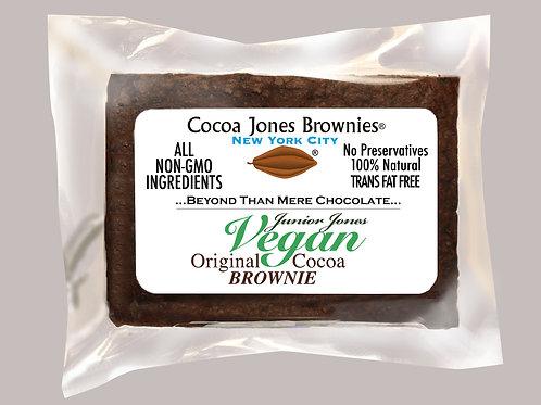 Vegan Original Plain Cocoa Brownie